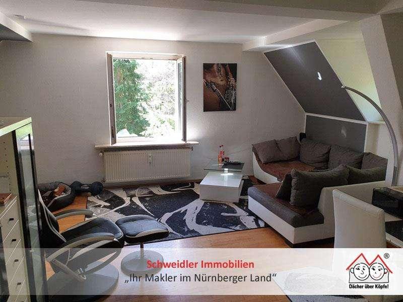 Geschmackvolle 2-Zimmer-Villenwohnung in Hersbrucker Bestlage zur Miete in Hersbruck