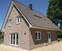 Bild Neubau eines Einfamilienhauses in Bramfeld