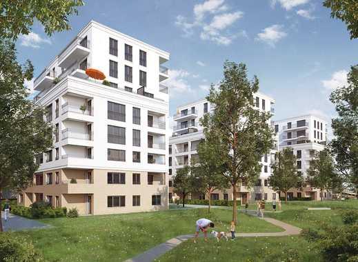 Nix wie hin! Lichtverwöhnte 3-Zimmer-Wohnung mit Süd-Balkon in Niederrad