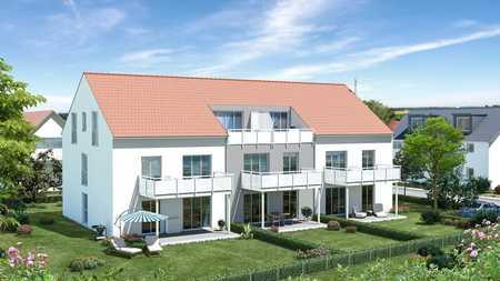 Helle, moderne 2-Zimmer-Neubau-Whg., ruhige und dennoch zentrale Lage in Nordost (Ingolstadt)