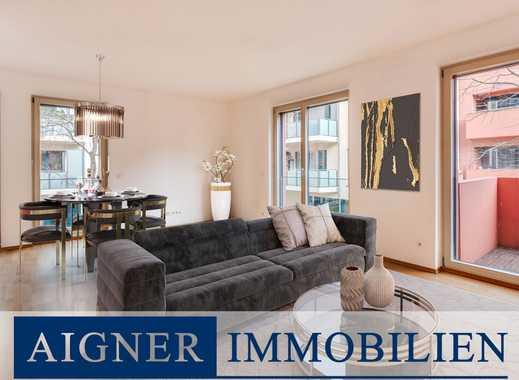 AIGNER - Bestlage Altschwabing: Moderne 2 Zimmerwohnung für gehobene Ansprüche