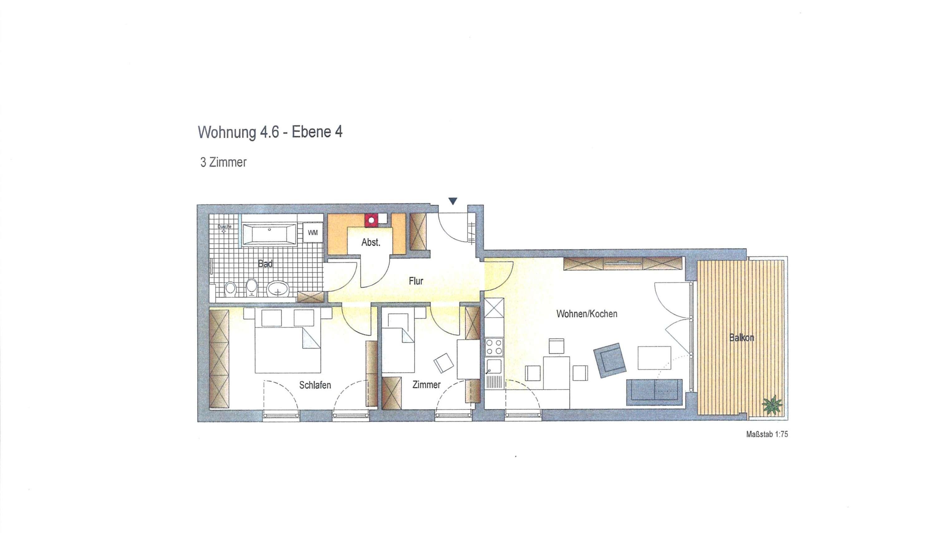 *** Moderne Neubauwohnung in zentraler Lage *** in Deggendorf