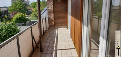 Gepflegte DG-Wohnung mit drei Zimmern sowie Balkon und EBK in Löhne