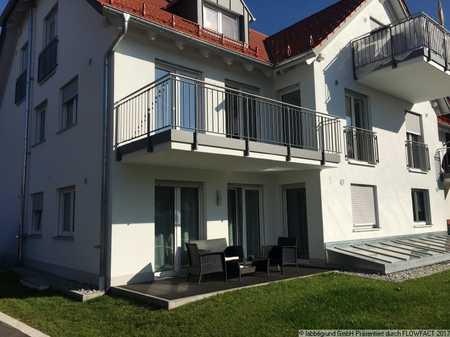 Zweitbezug: moderne, großzügige 4-Zimmerwohnung mit Garten in Nassenbeuren in Mindelheim