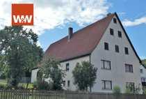 Einfamilienhaus mit Scheune und Doppelgarage