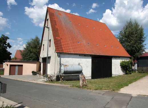 Grundstück aktuell mit Scheune u. Garage bebaut in einem Ortsteil von Hiltpoltstein/Gräfenberg