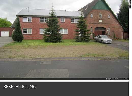 Für den Kennerblick, Teilresthof mit 6 Wohneinheiten, 2 x Gewerbeeinheit u. Garagen in Hemdingen.