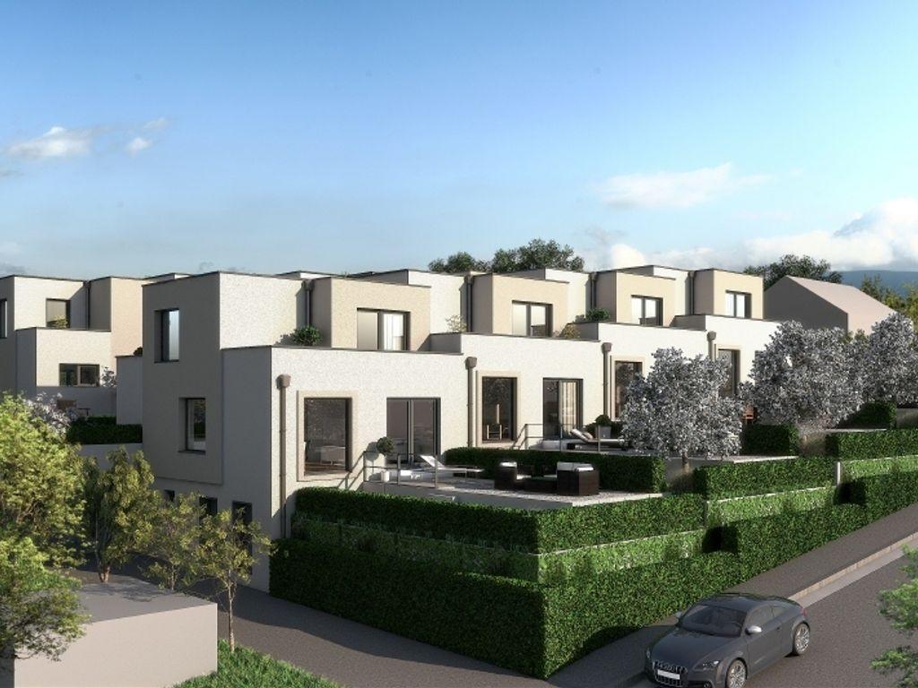 Ansicht Häuser 1-4