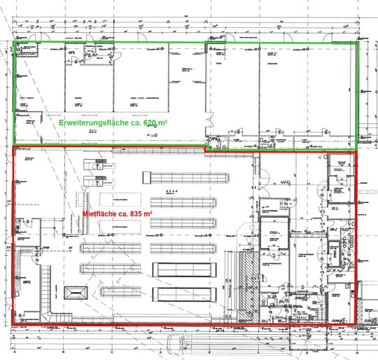Grundriss 1.455 m²
