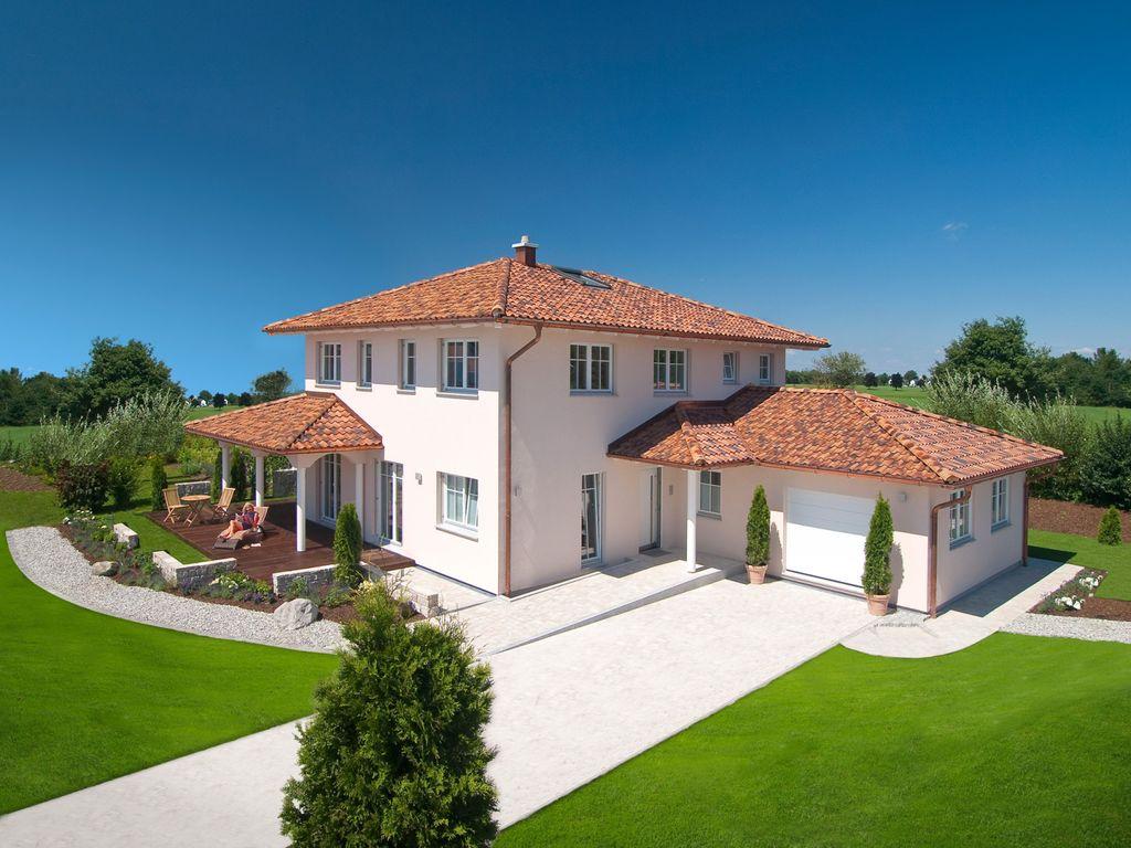 Beeindruckend Mediterranes Haus Referenz Von Ansicht Mh Poing 187