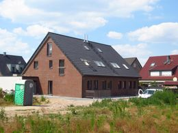 Ansicht der zwei Häuser