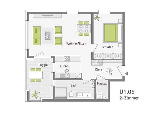 2-Zimmerwohnung im Schönblick - St. Georgen im Schwarzwald