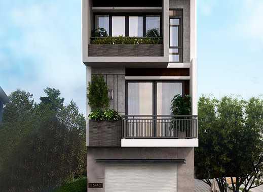 Freistehendes Designer Haus in der Mainmetropole Frankfurt !!!
