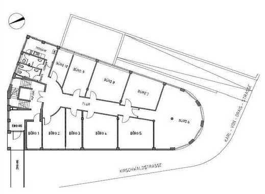 b ro mieten in dornbusch frankfurt am main b ror ume. Black Bedroom Furniture Sets. Home Design Ideas