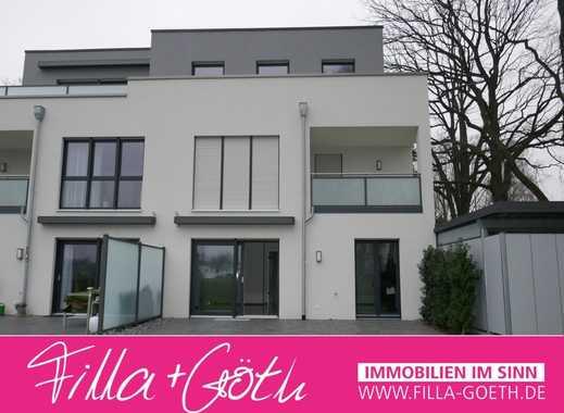 Edel ausgestattete Neubau-Erdgeschoss-Wohnung mit Südterrasse in GT-Kattenstroth!