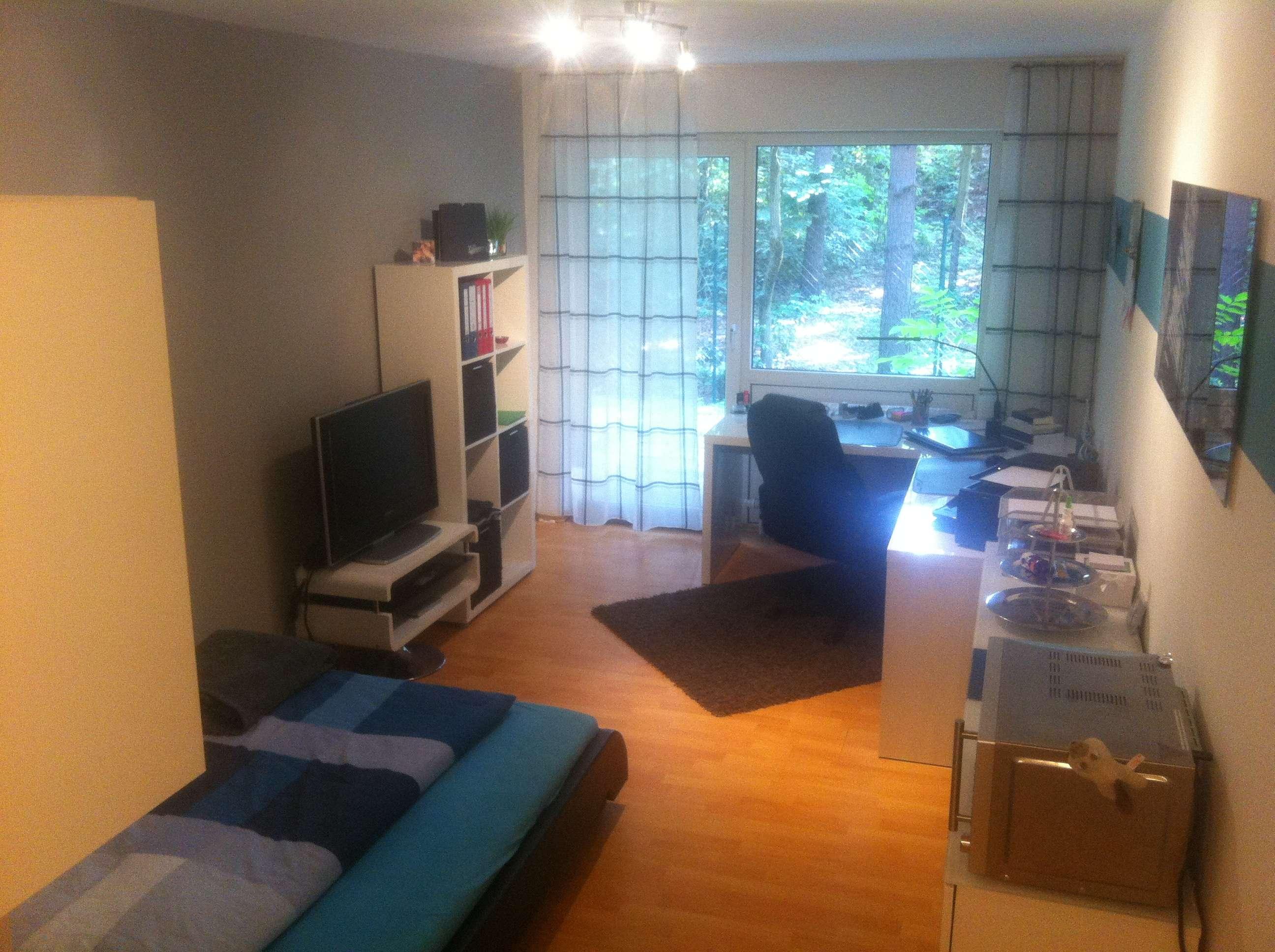 moderne 1 Zimmer Wohnung mit Südbalkon in Erlangen - Bruck in