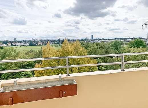 2 Zi .Whg. mit Süd-Balkon, einzigartiger Ausblick in die Berge, voll möbliert