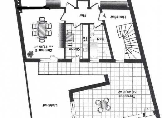 Vollständig renovierte 3-Zimmer-Terrassenwohnung mit Balkon in Remscheid Innenstadt