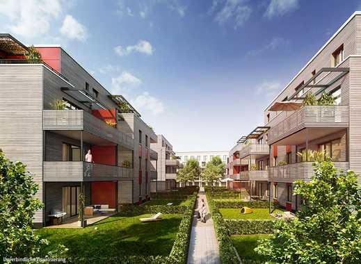Erfüllen Sie sich Ihren Traum vom eigenen Garten! Helle 3-Zimmer-Wohnung mit ca. 91 m² Privatgarten