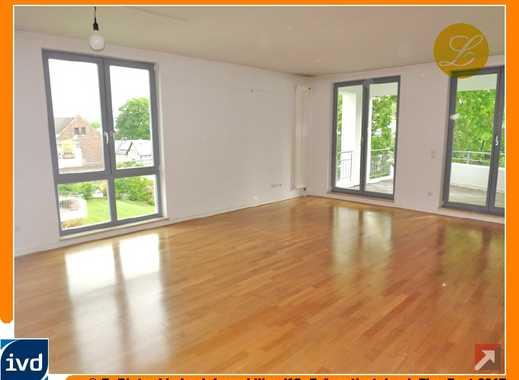 Plittersdorf - Rheinlage! Hochwertige 3-Zi.-Wohnung mit Loggia und TG-Stellpl. in gehobenem Ambiente