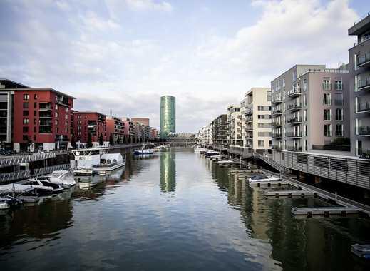 2,5 Zi. Wohnung im Westhafen - mit Wasserblick provisionsfrei