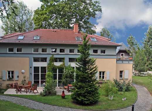 - Traumhafte 2-Zimmer-Wohnung mit Gartenterrasse und Kamin * Dresden-Loschwitz-Elbhang -