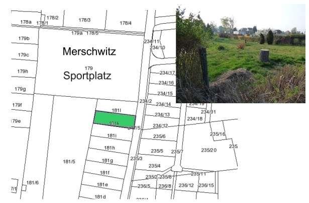 Merschwitz, ein schöner Platz für Ihr neues Eigenheim - Grundstück zum Kauf in Diesbar-Seußlitz