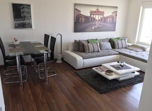 Exklusive, vollständig renovierte 2-Zimmer-Wohnung mit Balkon und Einbauküche in Mainz-Kostheim