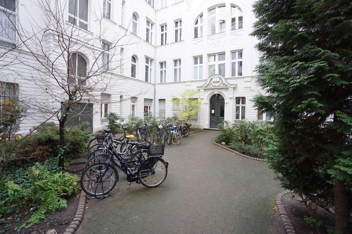 Gepflegter Innenhof