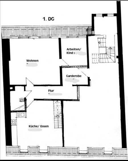 510.0 € - 91.0 m² - 3.0 Zi. in Stadtsteinach