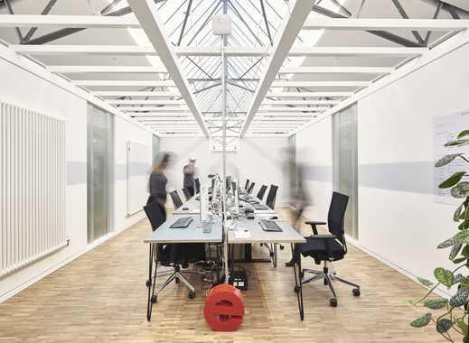 Skylight Teambüro mit 10 Arbeitsplätzen in den AEG-Höfen (Unicorn AEG I)