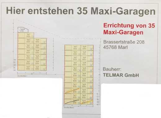 JETZT RESERVIEREN: MAXI - Garage in Marl - Brassert *NEUBAU*