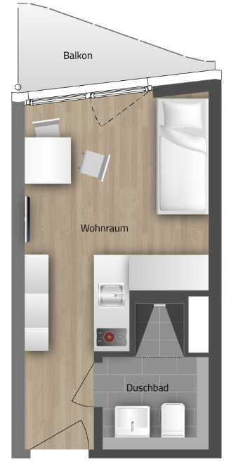 Möblierte Apartments, perfekt geeignet als Mitarbeiterunterkünfte! in Riem