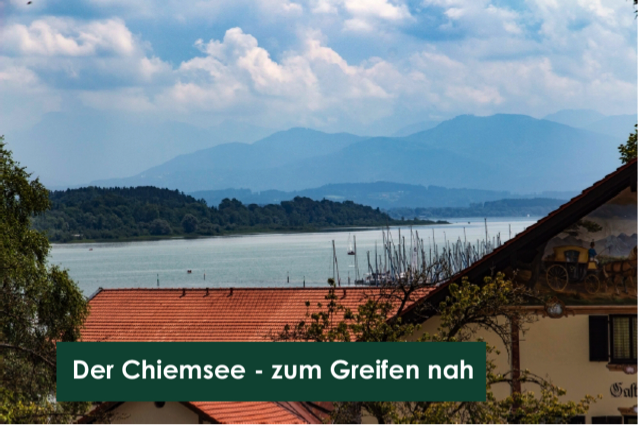 Erstbezug nach Sanierung mit EBK und Garten: 400 Meter zum Strandbad!! in Seeon-Seebruck (Traunstein)
