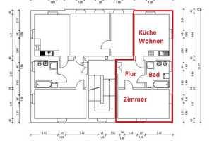 1.5 Zimmer Wohnung in Dresden