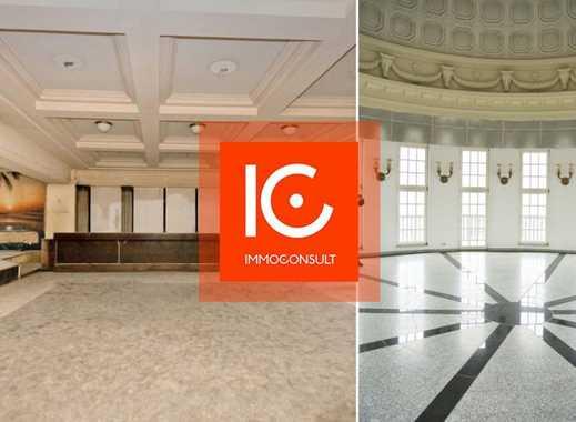 Gastrofläche an der KARLI mit Konferenzraum, Kuppelsaal mit 360°- Rundblick über Leipzig