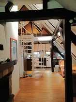 Gemütliche großartige Dachgeschoss Maisonette Wohnung
