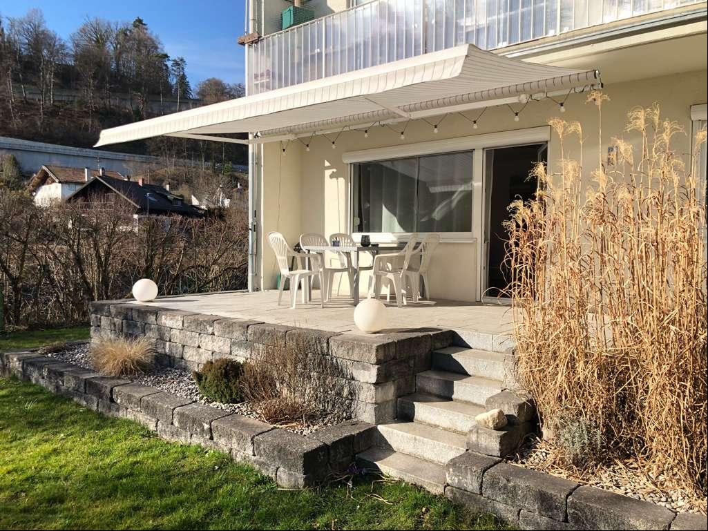 Schöne, geräumige zwei Zimmer Wohnung mit großer Süd-Terrasse in Wolfratshausen in