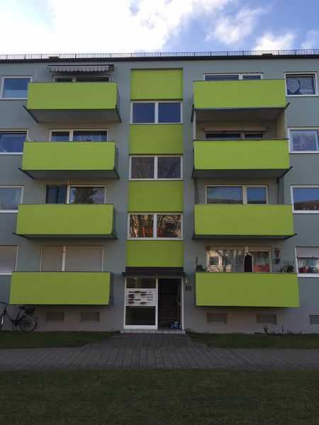 Gepflegte 2-Zimmer-Wohnung mit Balkon in Ingolstadt Nähe Audi AG in Oberhaunstadt (Ingolstadt)