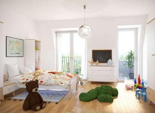 Familienfreundliches Wohnen in Leipzig-Connewitz! Stilvolle 3-Zimmer-Wohnung mit Balkon