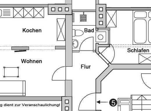 Erstbezug! Modernisierte 2-Zi.-EG-Altbauwohnung mit EBK in Neuhausen, München
