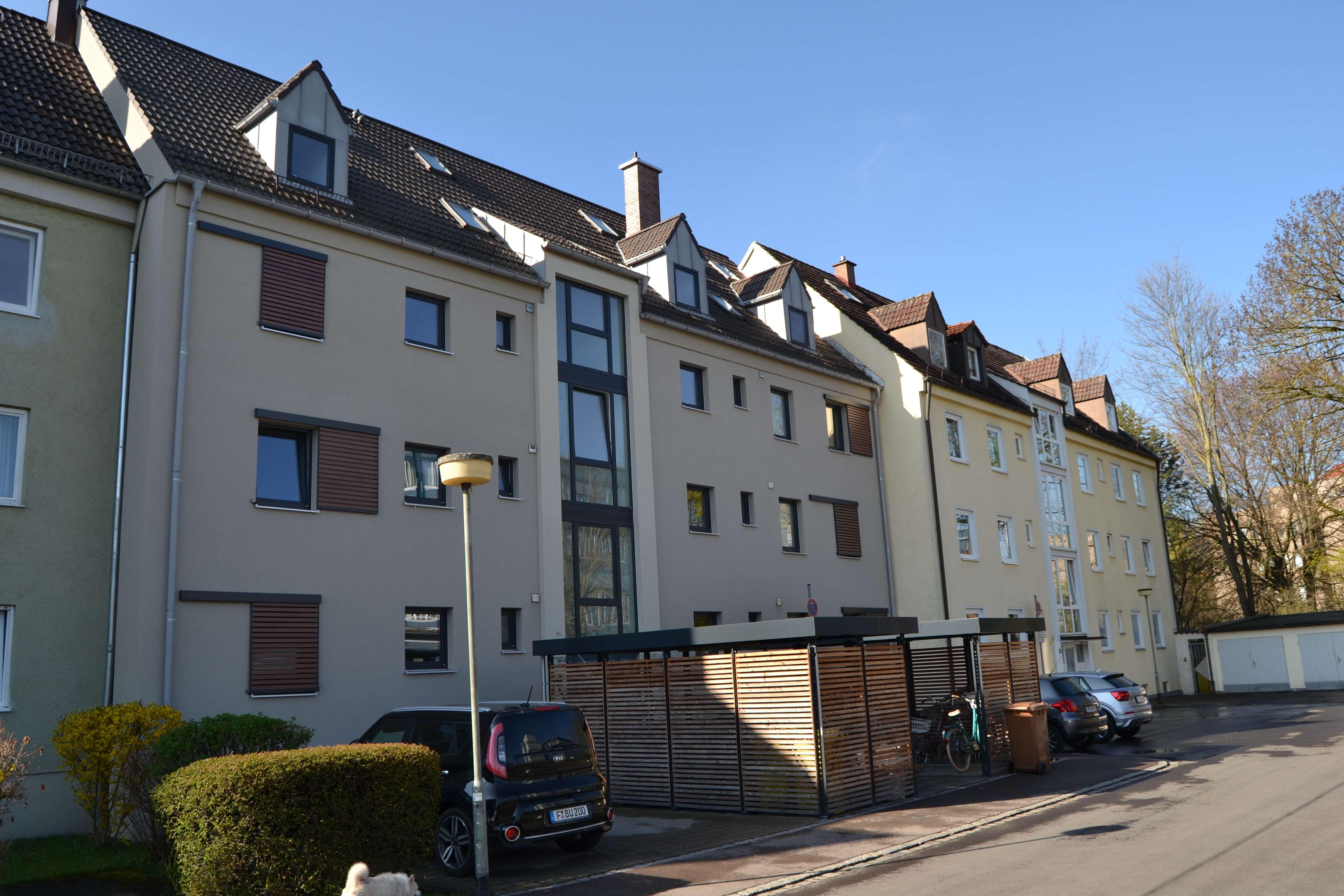 Jetzt schnell bewerben - Stilvolle 2-Zimmer-Wohnung im Herzen von Augsburg - ab November in Augsburg-Innenstadt