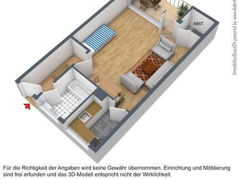 15 Zimmer Mit Balkon In Helfe