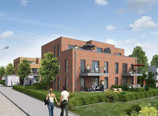 Erstbezug: Wohnung im 1. OG mit Balkon in ruhiger Wohnlage!