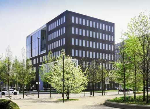 Einzelbüros MINI-Büros Coworking Schreibtische Business-Center im AIRGATE