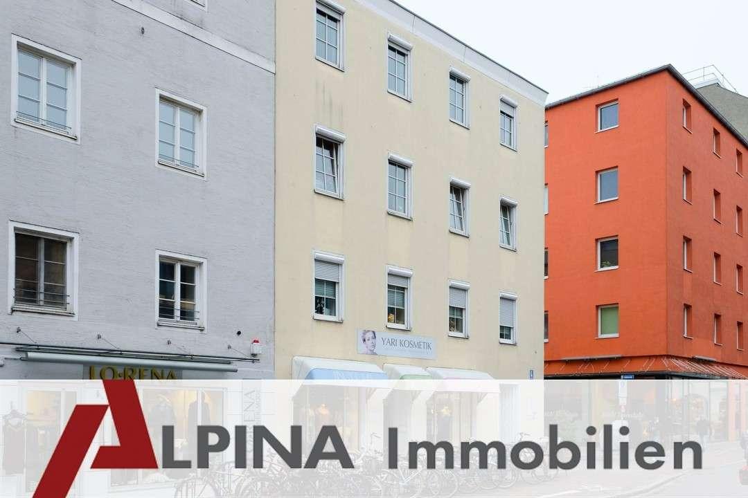3-Zimmer-Citywohnung für Stadtliebhaber! in Rosenheim-Innenstadt (Rosenheim)
