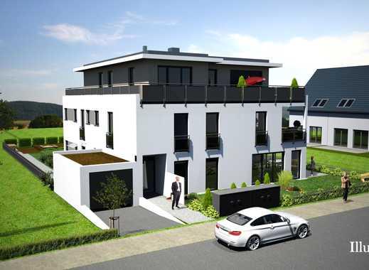 Schlüsselfertiger Neubau: Exklusives Penthouse mit umlaufender Dachterrasse