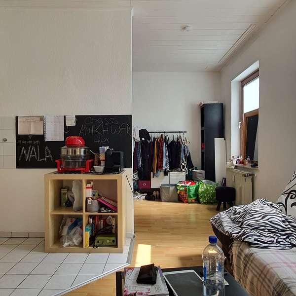 *** helles 1-Zimmer-Appartement mit Gemeinschaftsgarten nahe Würselen Zentrum ***