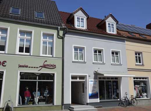 Schöne Ribnitzer Innenstadtwohnung über 2 Etagen mit Balkon