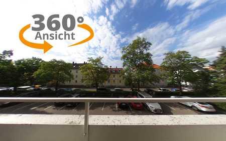 Schöne helle 4-Zi.-Wohnung im 1.OG in Augsburg-Pfersee mit EBK und 2 Balkonen in Pfersee (Augsburg)